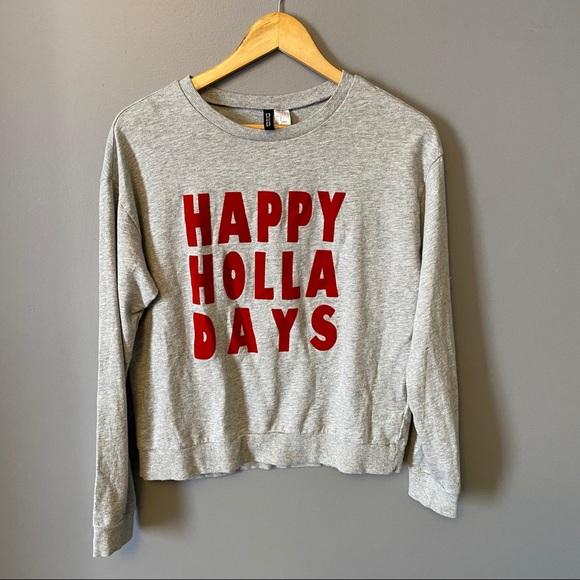 Christmas Holiday Crewneck Sweatshirt